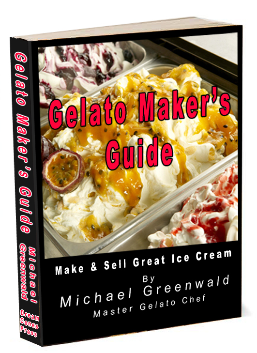 Gelato Maker′s Guide cover