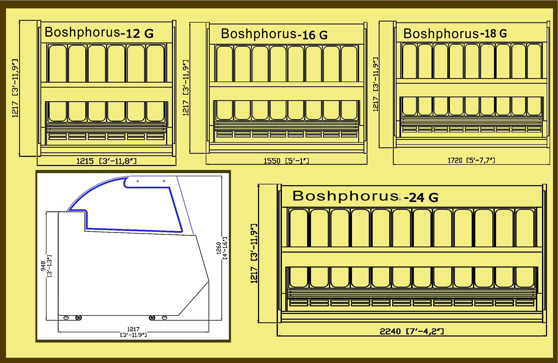 Bosphorus Bell Pan Layout & Profile