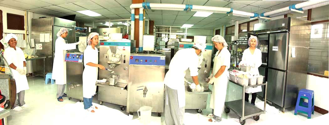 Ice cream manufacture and supply Ice cream cookie & light pastry training